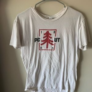 white park city t shirt with tethered neck